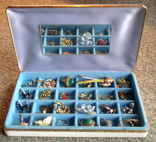 jewelry box loaded