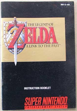 Zelda Booklet