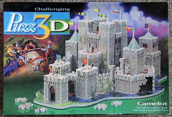 Puzz 3D Camelot Puzzle
