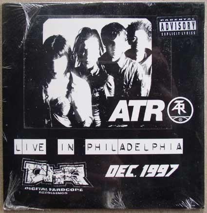Atari Teenage Riot / Live Philadelphia CD 1