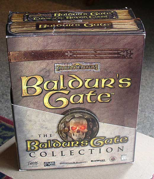 Baldur S Gate Collection Pc Gate Tales Sword Coast Thingery
