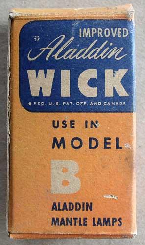 model b wick