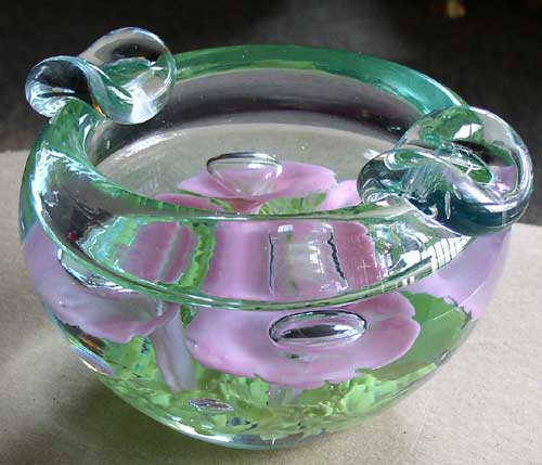 St  Clair Art Glass Heavy Cigar Ashtray – Thingery Previews