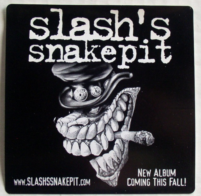 Slash's Snakepit sticker