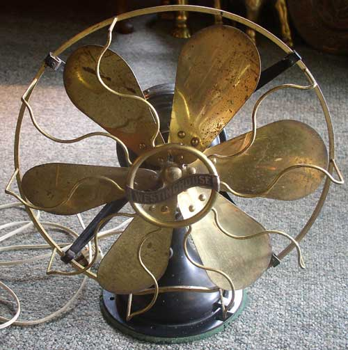 Empire Auto Sales >> Westinghouse Brass Blade & Cage Fan 3 speeds – Thingery ...