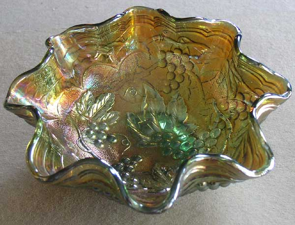 Carnival Glass Bowl 3