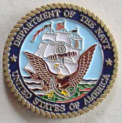 Challenge Coin Coronado Naval Base