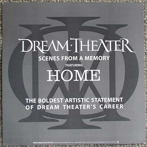 Dream Theater flat back