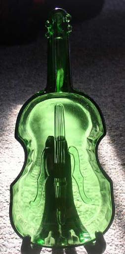 green glass violin 3