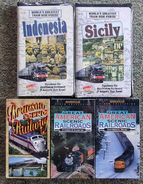 5 Train Videos