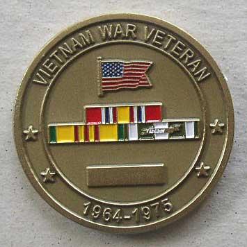 Challenge Coin Viet Nam Vet 2