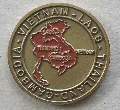 Challenge Coin Viet Nam Vet 1