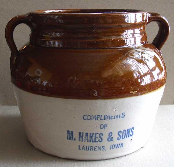 Hakes Bean Pot 1