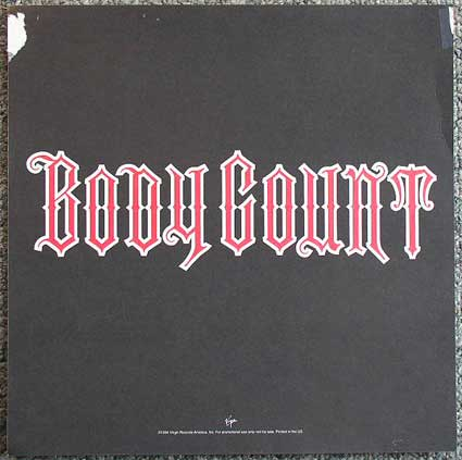 Bodycount Flat Back