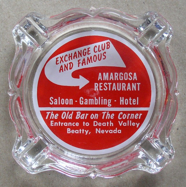 Exchange Club Ash Tray