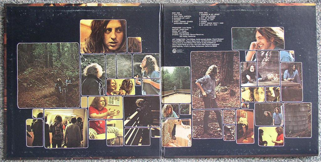Lee Michaels Barrel 1971 Lp Vg Vg Gatefold Thingery