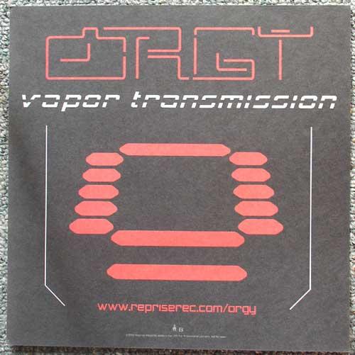 Orgy Vapor flat back