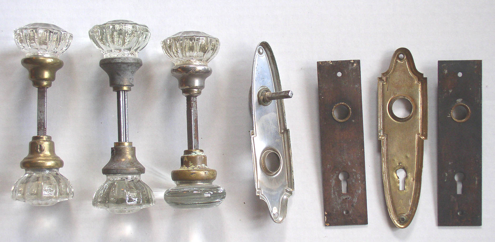glass doors knobs antique photo door old