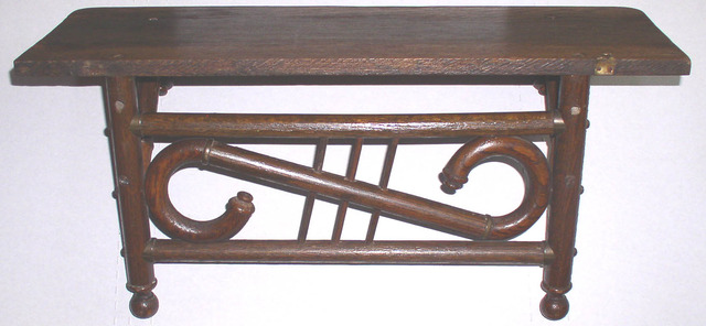 Stick And Ball Clock Shelf 1