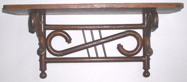 Stick And Ball Clock Shelf 3