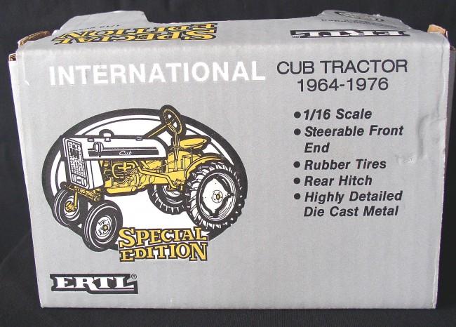 Cub Tractor 2