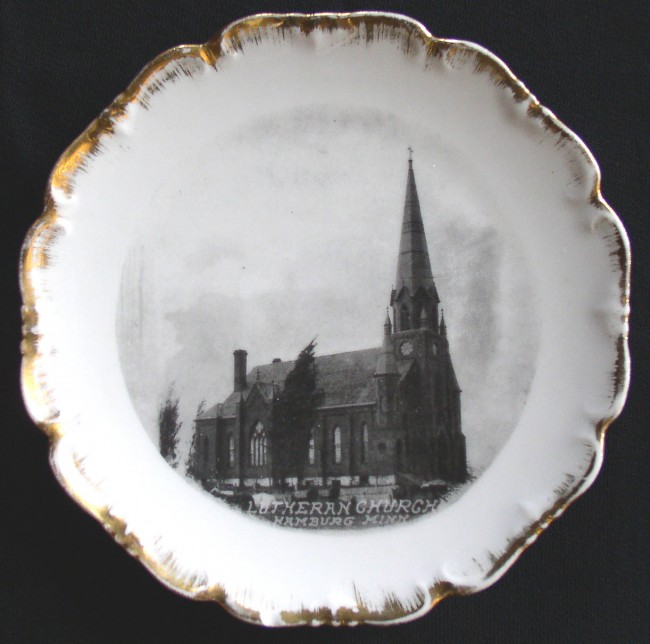 Hamburg Church Plate 1