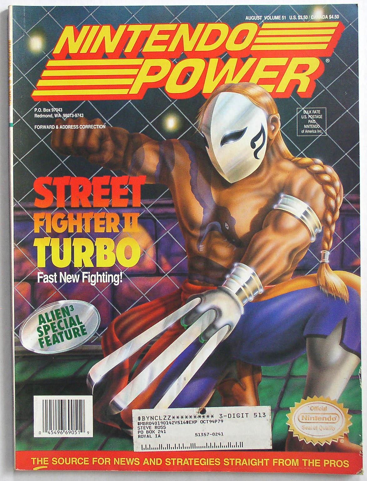 Nintendo Power Magazine Page 2 Thingery Previews
