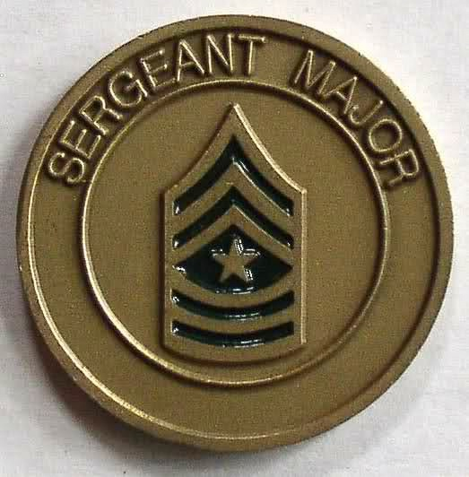 US Army Sergeant Major Challenge Coin 1