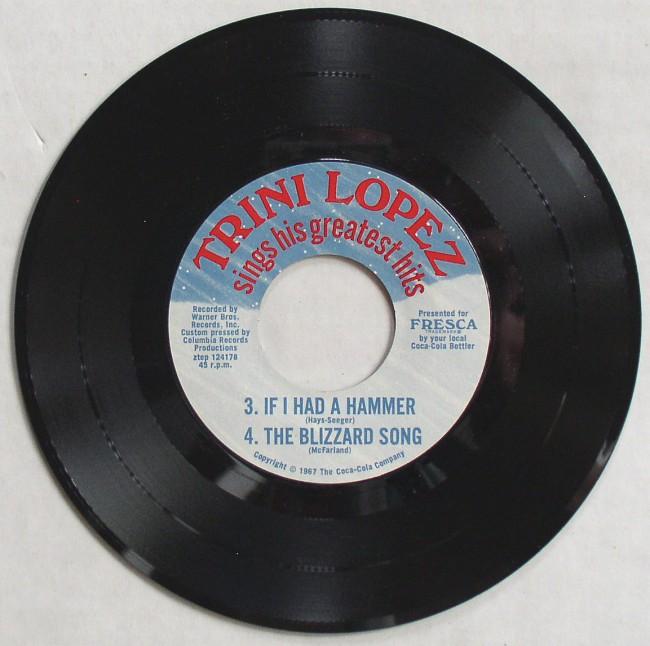 Trini Lopez Record 4