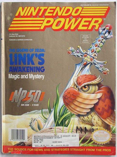 Nintendo Power 50