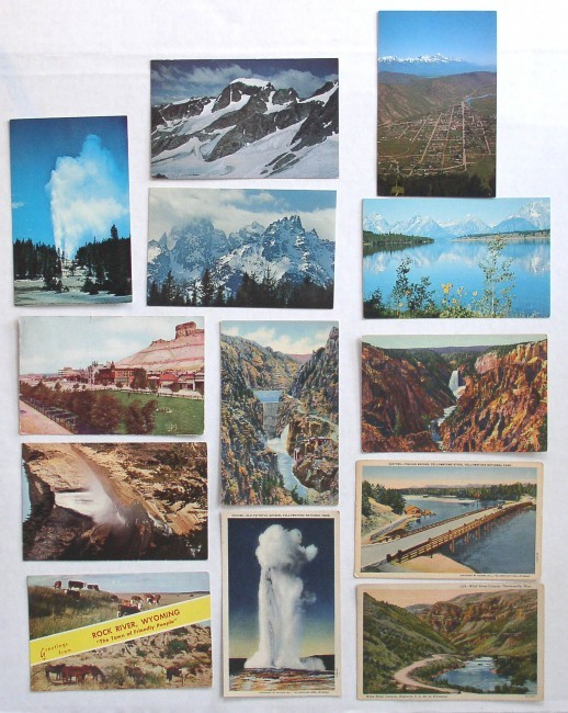 Wyoming Postcards