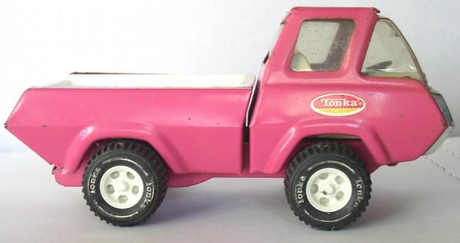 Pink Tonka Truck 1