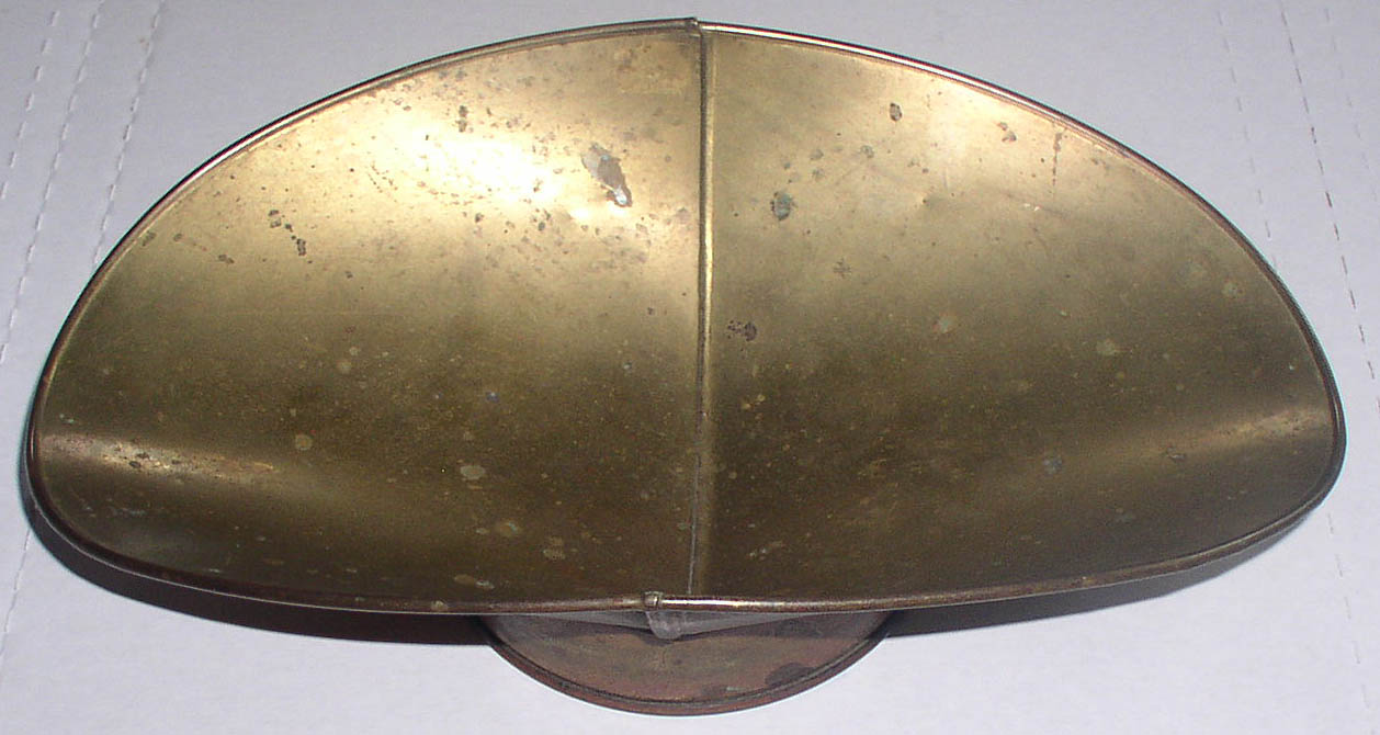 Antique Brass Hardware Candy Store Scale Pan Scoop