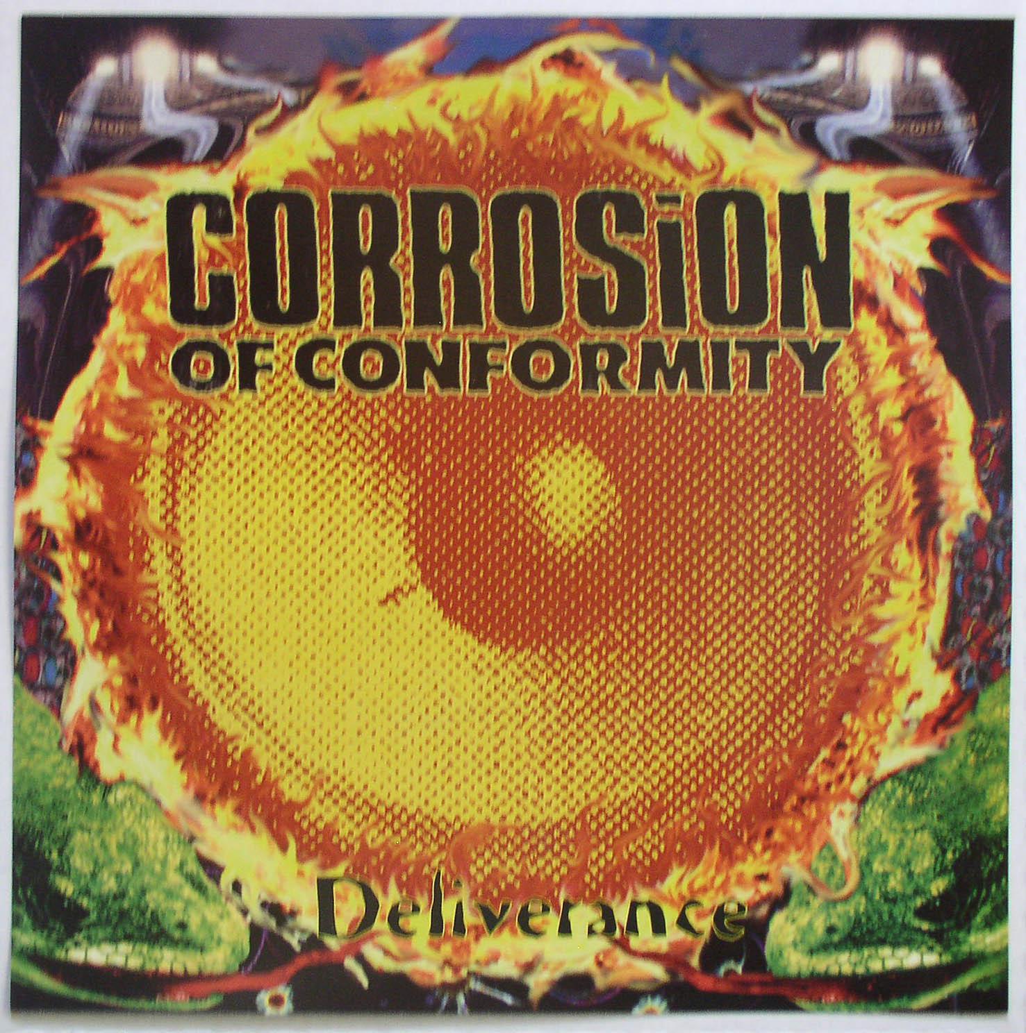 Corrosion Of Conformity Deliverance Single Promo Flat