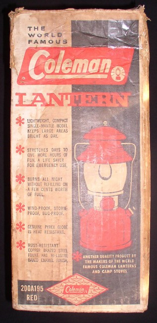Coleman Lantern 1