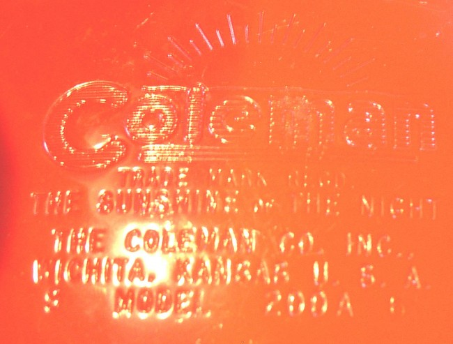 Coleman Lantern 4