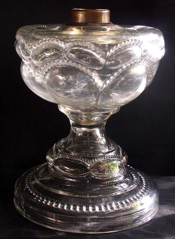 Empire Auto Sales >> Antique Large Size Peanut Pattern Oil Kerosene Lamp ...