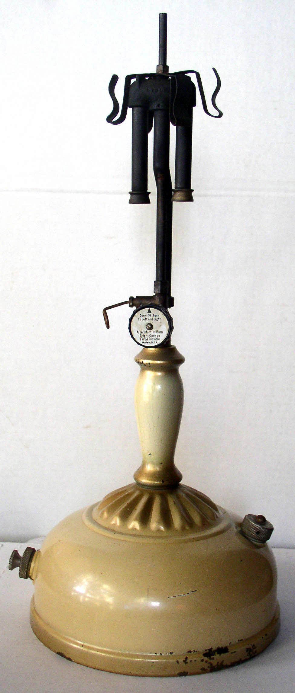 Vintage Coleman Instant Lite 132a Table Lamp 1940