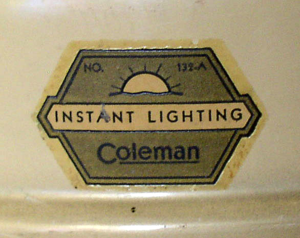 Coleman 132 A Lamp 3