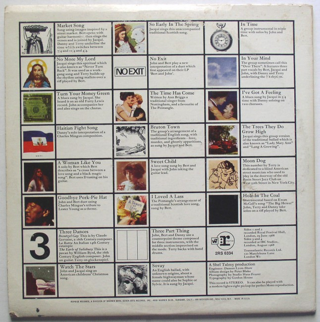 Pentangle Sweet Child 2 Lp 1968 Thingery Previews