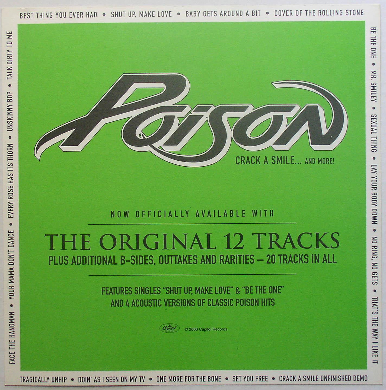 Poison - Crack A Smile