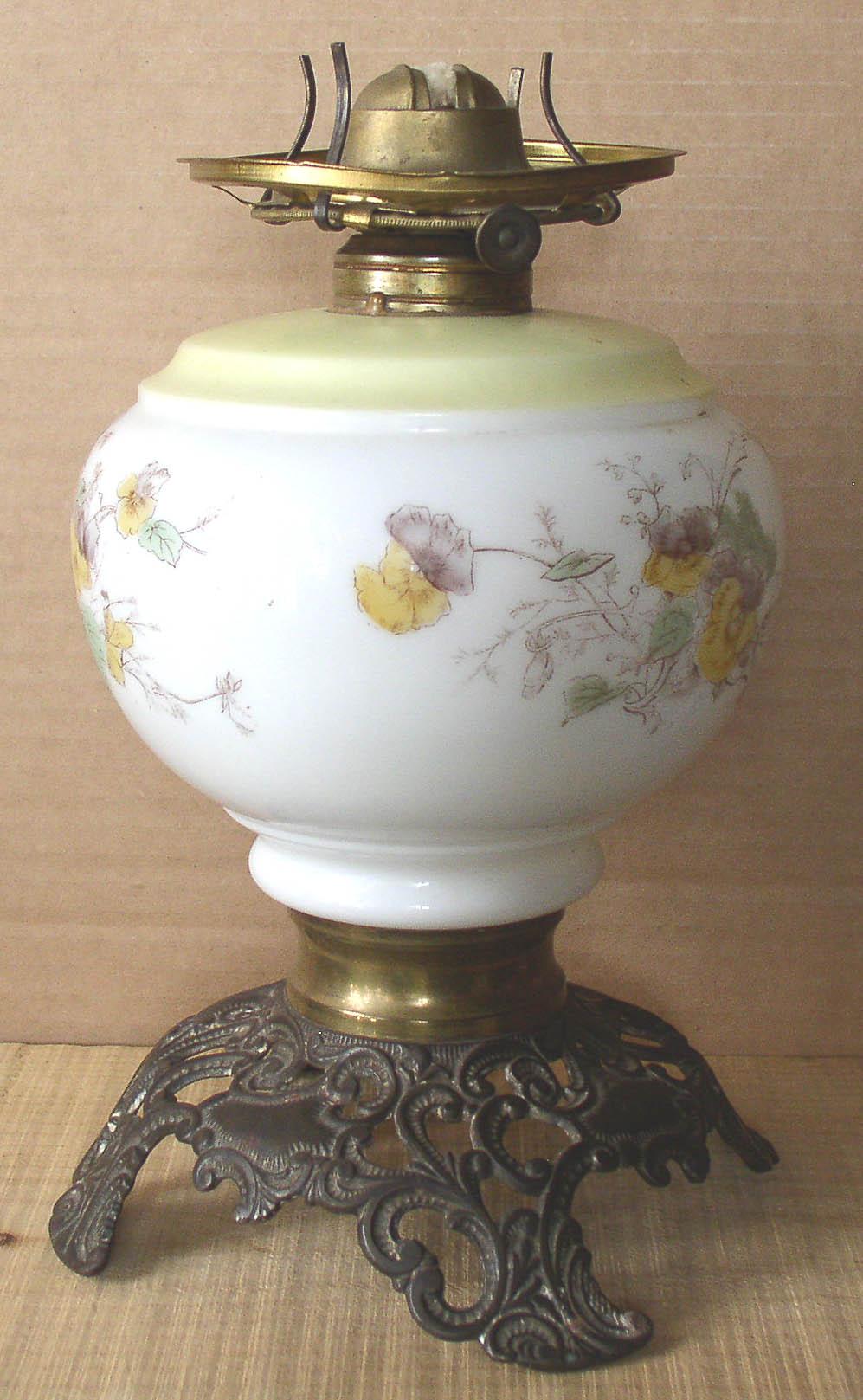 Antique Gwtw Parlour Oil Lamp Base Thingery Previews