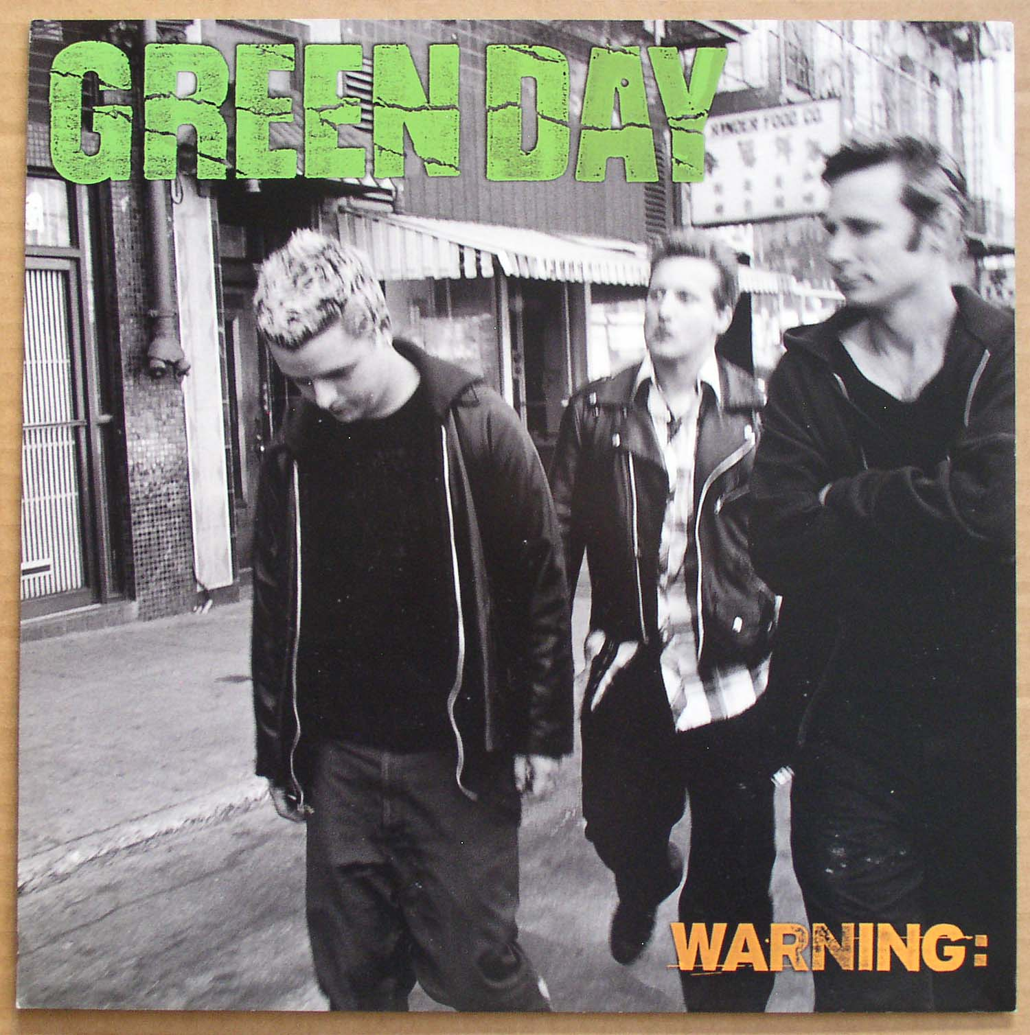 Green Day Warning Reprise 2000 Unused Promo 12 Flat