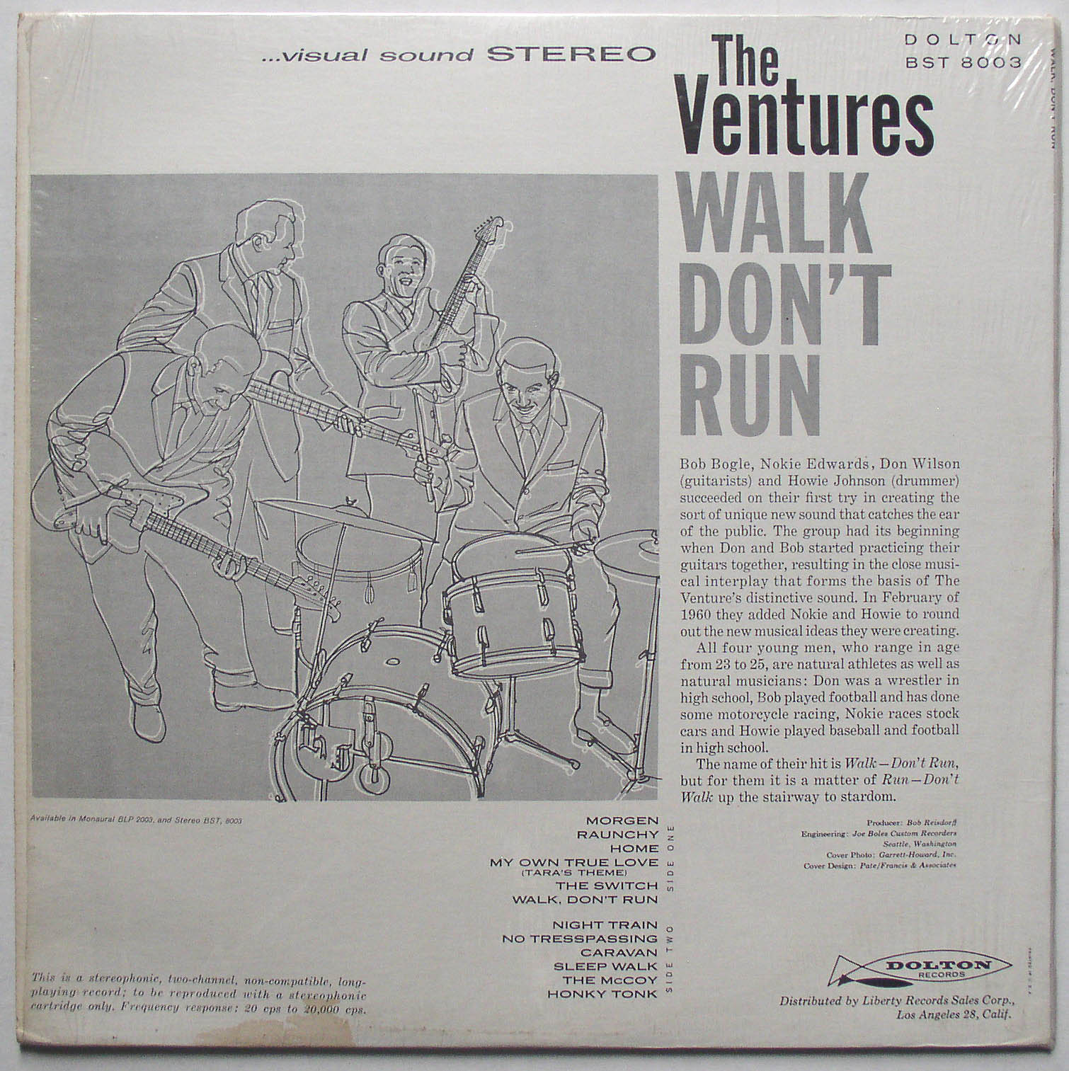 Ventures Walk Don't Run Ventures / Walk Don't Run 1963