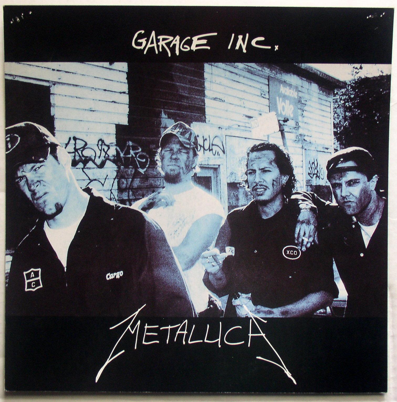 Empire Auto Sales >> Metallica / Garage Inc – Thingery Previews Postviews ...