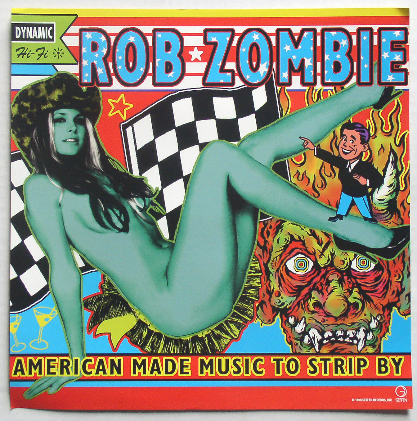 Rob Zombie American Made Music To Strip By Promo Flat