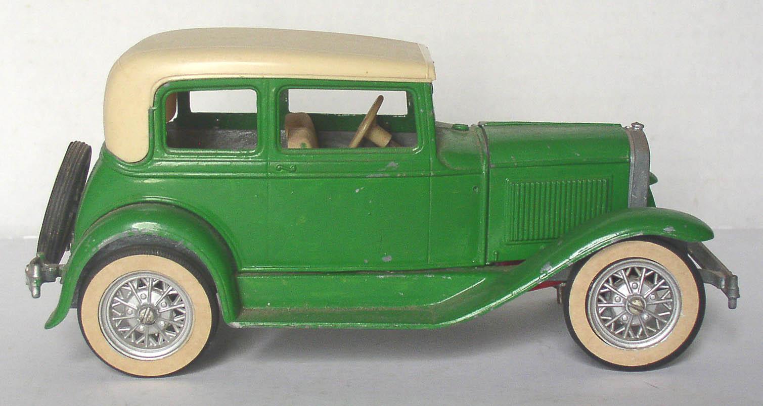 Hubley Metal Model A Ford Victoria Built Car Kit ...