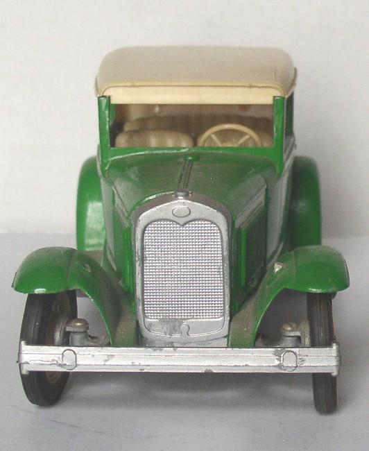 Hubley Metal Model A Ford Victoria Built Car Kit