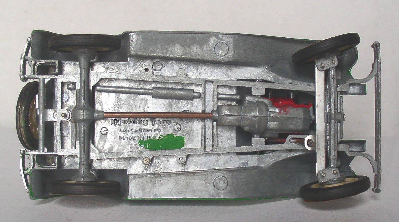 Empire Auto Sales >> Hubley Metal Model A Ford Victoria Built Car Kit ...