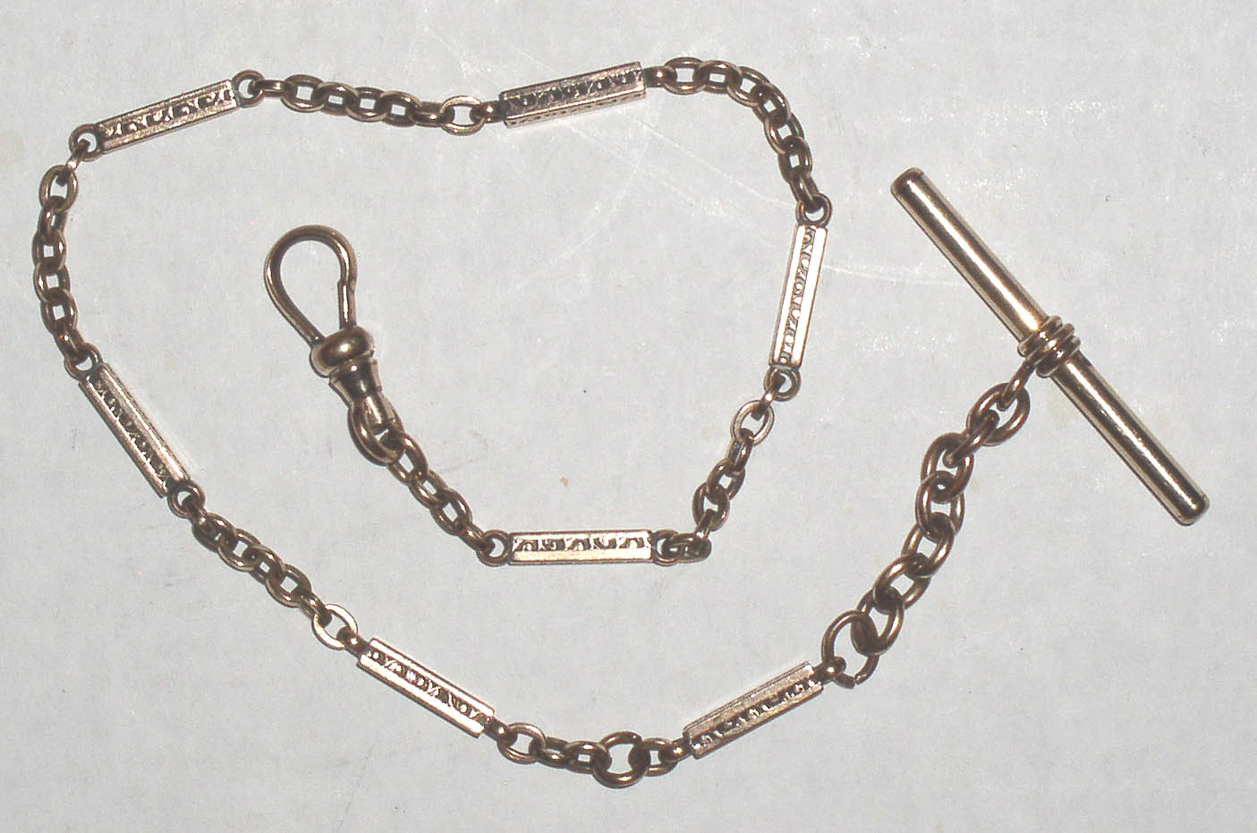 Empire Auto Sales >> Antique Gold Filled Fancy Link Pocket Watch Chain ...